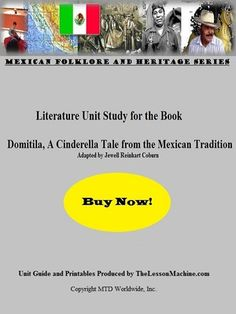 Teachers wishing to incorporate yet another Mexican Cinderella tale into their whole group or individualized instruction schedule can do so with this comprehensive literature unit study guide. Developed to support the book a Tale from the tradition. Unit Plan, Vocabulary, The Book, Schedule, Literature, Cinderella Theme, Mexican, Classroom, Study