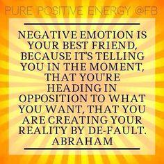 Abraham-Hicks Emotional Scale | Negative emotion. | Abraham Hicks | Pinterest