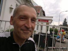 """#Philosophische Praxis mit Dr Gerhard #Kaucic (06-2014)  zum Thema  """" Klaus #Theweleits  #Männerphantasien und zu Ende geboren werden """" (Phil. Prax. hier in Sankt Andrä / Wördern in #Niederösterreich im #Gartencafé im Juni 2014)"""
