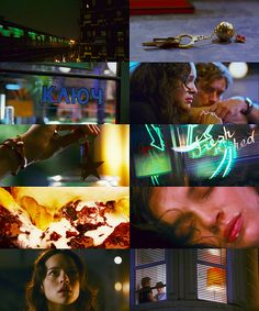 """My Blueberry Nights (2007 Wong Kar-Wai) - """"Adios no significa siempre el final, a veces significa un nuevo comienzo/Goodbye doesn't always mean the end, sometimes it means a new beginning."""""""
