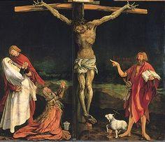 Jesus Christ crucified. Isenheim, Germany.