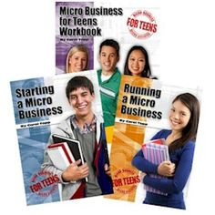 Curriculum set: 3 books over 12 weeks start and run a micro business