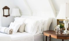 Whitewashed farmhouse  A Country Farmhouse Blog  Country Living Magazine