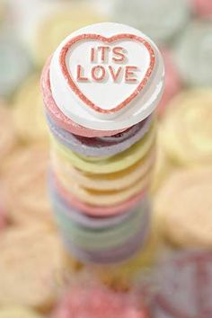 Love Heart sweets