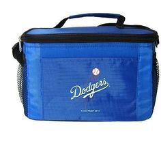 MLB 2014 6 Pack Cooler Lunch Tote (Los Angeles Dodgers)