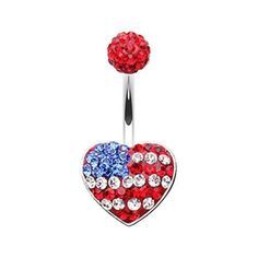 14 GA Dazzling Stripes Multi-Sprinkle Dot Belly Button Ring 316L Surgical Stainless Steel Body Piercing Jewelry For Women and Men Davana Enterprises Multiple Colors