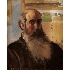 Self-Portrait Canvas Art - (18 x 24)