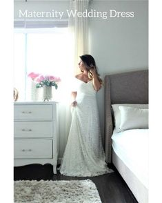 Western Wedding Dresses, Plus Size Wedding Gowns, Dream Wedding Dresses, Lace Wedding, Pregnant Wedding Dress, Wedding Dress Shopping, Maternity Wedding, Bridal Gown Styles, Bridal Dresses