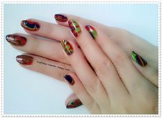 Unghiutze colorate-Happy nails: Water Marble