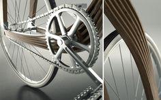 AERO Bike vélo en bois composite