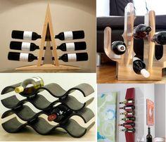 5 Clever, Stylish Ways To Utilize Wine Racks