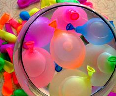 Water balloons!