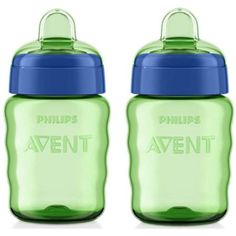 Philips AVENT 9 Ounce My Easy Sippy Spout Cup, BPA-Free, 2-Pack - Walmart.com