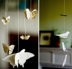 Hanging Paper Cranes and more at your Wedding | Green Wedding Shoes Wedding Blog | Wedding Trends for Stylish + Creative Brides