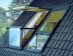 uitstekende raam met balkon - Google zoeken