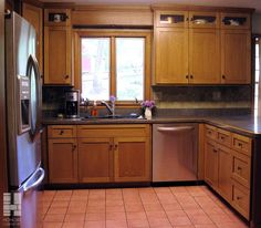 White Kitchen Oak Cabinets quarter sawn oak cabinets kitchen | quartersawn white oak cabinets
