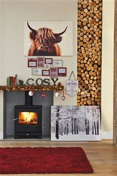 Bark Cosy Word Love the Highland cow pic, though