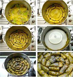 πως μαγειρεύουμε τα ντολμαδάκια στην κατσαρόλα Cooking, Lent, Greek, Kitchen, Lenten Season, Greece, Brewing, Cuisine, Cook