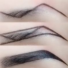 Accessoires Z-Typ Augenbrauen Make-up-Technik Makeup Makeup Techniques eyebrows Eyebrow Makeup Tips, Makeup Tutorial Eyeliner, Eye Makeup Steps, Skin Makeup, Makeup Brushes, Makeup Eyebrows, Eye Brows, Drawing Eyebrows, How To Do Eyebrows
