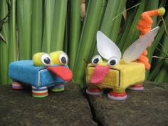 """coloured buttons: Matchbox Monday: """"There are more strange bugs in the garden mum""""…a fun activity to make with boys…and don't forget to check what these little guys like to eat!!"""