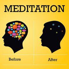 Meditation: Before & After