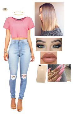 """""""Summer Outfit Ideas ☀️#965"""" by medinea ❤ liked on Polyvore featuring Boohoo and Lana"""