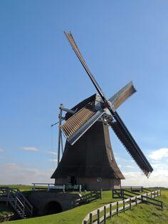 Poldermolen De Goliath. Roodeschool. Groningen Holland