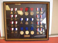 Assorted Medals.