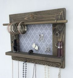 jewelry organizer. think i will diy this.
