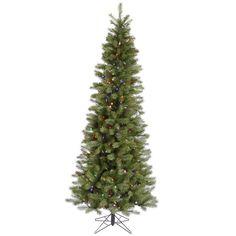 7.5' Vickerman A114077 Albany Spruce - Green Christmas Tree