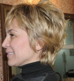 Short haircuts lover older ladies, we collect 20 Super Short Hair Styles for Older Women, an you can get easily new style. Check these short hair ideas. Short Layer Cut, Short Hair With Layers, Short Hair Cuts For Women, Short Cuts, Short Shag Hairstyles, Short Layered Haircuts, Cool Hairstyles, Layered Hairstyles, Bob Haircuts