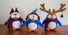 Mesmerizing Crochet an Amigurumi Rabbit Ideas. Lovely Crochet an Amigurumi Rabbit Ideas. Amigurumi Free, Crochet Amigurumi, Amigurumi Patterns, Crochet Dolls, Amigurumi Doll, Crochet Ideas, Crochet Winter, Holiday Crochet, Penguin
