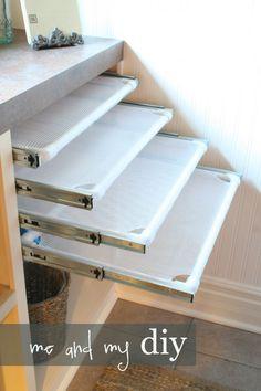 DIY Air Drying Mats, 20 Laundry Room Organization Ideas via A Blissful Nest