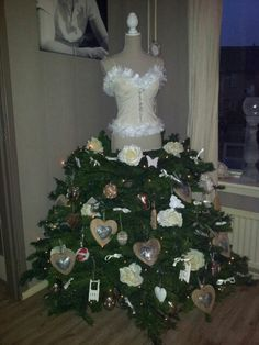 1000 images about paspop on pinterest dress form for Mini kerstboom action