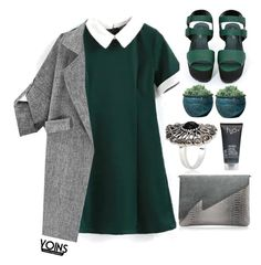 """#Yoins"" by credentovideos ❤ liked on Polyvore featuring Shoe Cult, Campania International and H2O+"