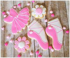 12 Ballerina sugar cookies