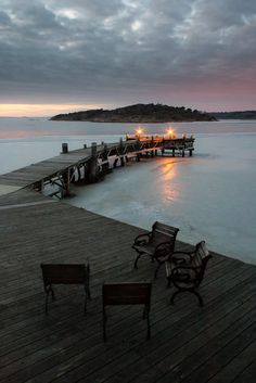 Särö, south of Gothenburg, Sweden, in February.