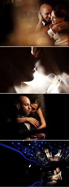 Romantic newly weds passionately kissing, photography by STAK Photographer Duo