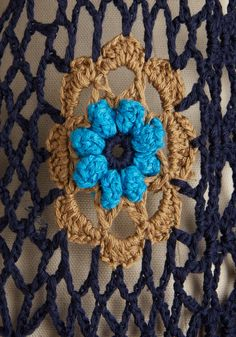 crochet del mar The Best of the Vest. In your closet of captivating clothes, this crocheted navy vest reigns supreme. you can find si. Crochet Woman, Love Crochet, Knit Crochet, Crochet Shirt, Crochet Cardigan, Cardigan Sweaters For Women, Cardigans For Women, Navy Vest, Vintage Sweaters