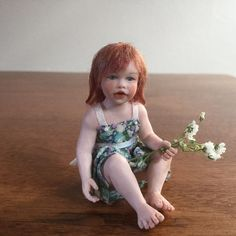 Miniature Dollhouse Doll By Susan Scogin