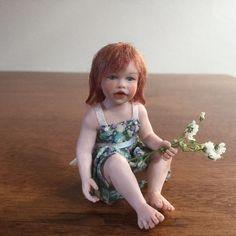 Miniature Dollhouse Doll By Susan Scogin