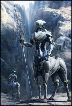 best Ideas for sci fi concept art cyberpunk cyborgs Alien Concept, Robot Concept Art, Arte Sci Fi, Sci Fi Art, Fantasy Creatures, Mythical Creatures, Art And Illustration, Sci Fi Kunst, Science Fiction Kunst
