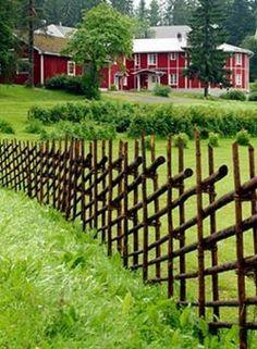 Unique Garden Fence Decoration Ideas – The Expert Beautiful Ideas - Zaun Ideen Front Yard Fence, Fence Gate, Dog Fence, Fence Panels, Rail Fence, Horse Fence, Pallet Fence, Fence Design, Garden Design