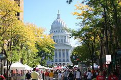 Madison, WI, State Capital, Farmer's Market