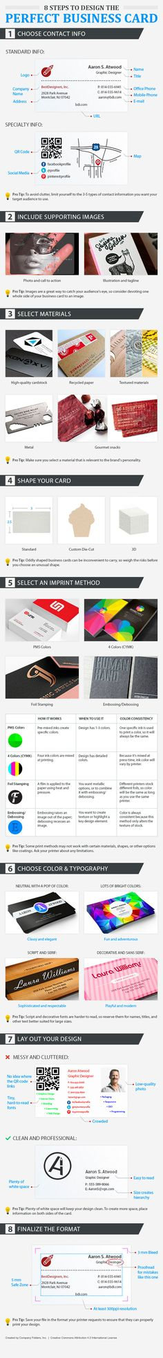 Infographic: Tips To Design The Perfect Business Card