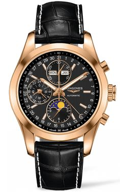 Longines Watch Conquest Classic Moonphase Chronograph Pre-Order #basel-15…
