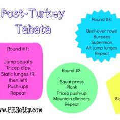 Fat-Blasting Tabata Workout #fitness