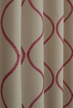 Colwyn Cranberry Made to Measure Curtains