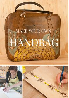 Design and make your unique #handbag using leathers #DIY #Seattle
