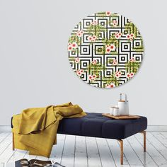 Discover «Geometric Jungle», Limited Edition Disk Print by DesigndN - From 95€ - Curioos